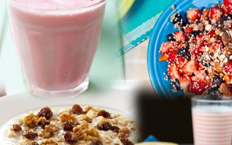 5 desayunos saludables para mañanas ocupadas